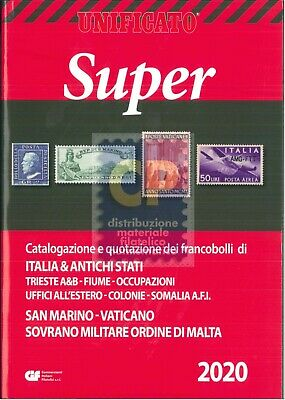 "Unificato ""Super"" 2020 Area Italiana"