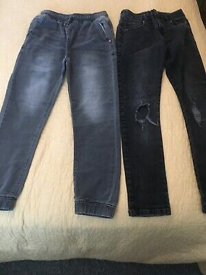 2 X Boys Grey Next Jeans Age 11 Years