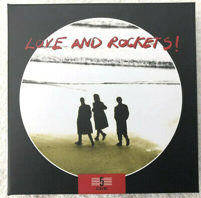 Love And Rockets - 5 Albums Collection - 5 X CD Box Set -2013- BBQCD2102 Bauhaus