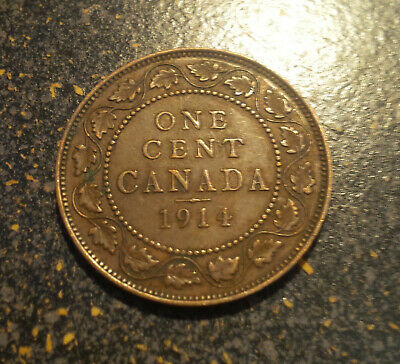 1914 Canada Large Cent - P1914-15