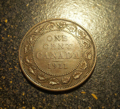 1911 Canada Large Cent - P1911-9