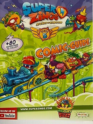 SuperZings Rivals of Kaboom Series 5 Comic Guide - 25 pages of Superzings Action