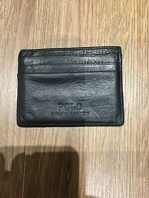 Genuine leather card holder by Ralph Lauren Polo