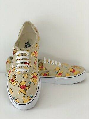 Winnie The Pooh Vans Mens UK Size 9.5 US 10.5 Disney Trainers
