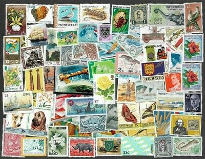 Worldwide Mint 500 different stamps collection-many thematics