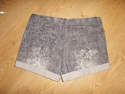 Bnwt Girls M&S Limited Collection Grey Hot Pant Shorts Age 10 Years