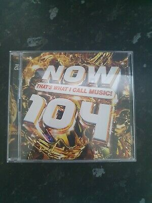 Now Thats What I Call Music 104 (various Artists) 2 CD Set