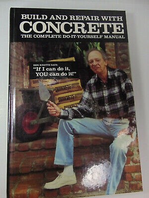Don Knotts Quikrete Manual Book 1986