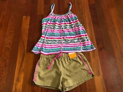 NWT Gymboree JUNGLE BRIGHTS sz 3T Lemur Top /& Skirt NEW
