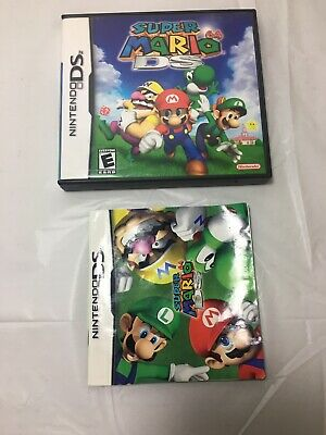 Super Mario 64 DS Case And manual Only. NO GAME!!