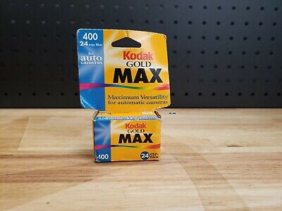 Kodak 135-24 Max Versatility ISO 400 Color Print 35mm Film, 24 Exp.  Sealed NIP