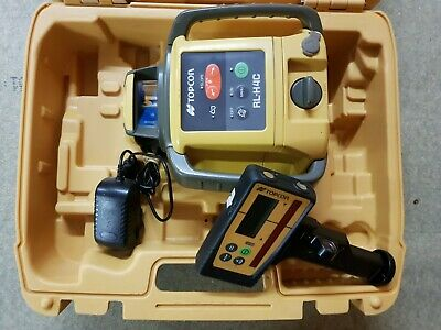 Topcon RL-H4C Rotating Laser Level With MM Receiver + Calibrated