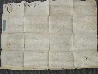 1731 Antique Legal Document Indenture Conveyance Sussex 760x560 fc13