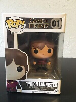 Funko Pop Game of Thrones #01 Tyrion Lannister