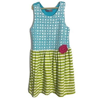 Jelly The Pug Teal Love Birds Lily Tunic /& Pants-Toddler /& Girl 2T,3T,4T RRP:$69