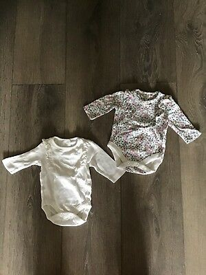 Mothercare Baby Girl Bodysuits Up to 1 month