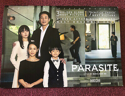 Parasite FYC Promo Booklet w/Photos from the Film
