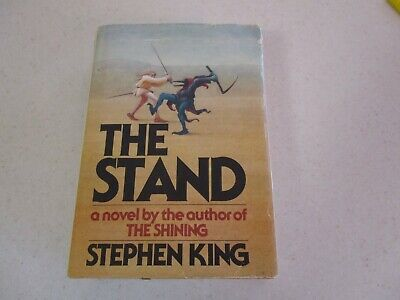 "Stephen King Vintage 1978 Hard Back Book "" The Stand "" Doubleday Publisher"