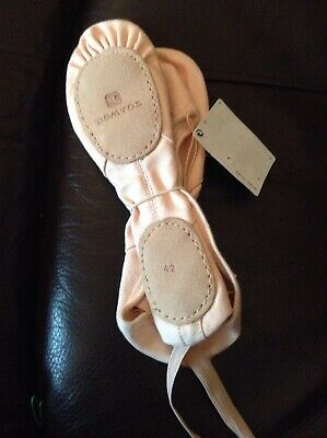 New Child's Size 8 (42) Ballet Shoes from Domyos (Decathlon)