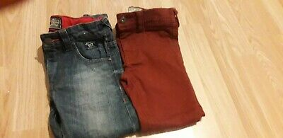 Two Pairs Boys Next Slim Jeans Age 6
