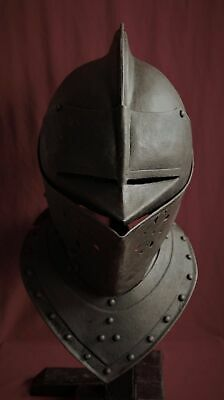 English Civil War Closed Helmet c1610, Armour, not Sword.