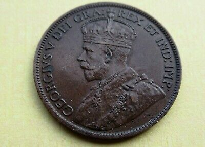Rare 1917 Canada Large Cent King George V High Grade World War I Penny Coin Lots