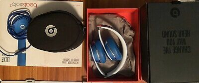 Beats by Dr. Dre Solo2 Over the Ear Headphones - Blue (Perfect Work'g Condition)