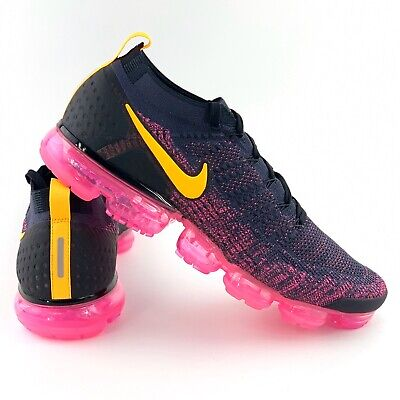 Nike Air VaporMax Flyknit 2 Pink Blast Men's Size 13 Running Shoes 942842 008