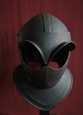 English Civil War Closed Helmet, c1610, Armour, not Sword.