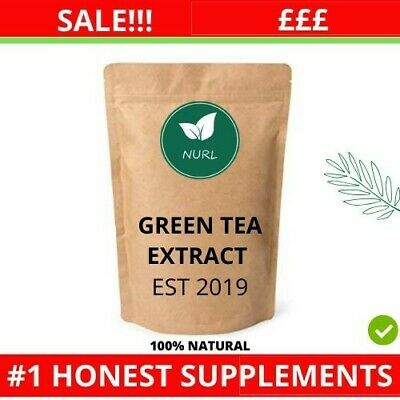 Limited Stock!!! Green Tea Capsules 9400mg 98%Polyphenols,80%Catechins ,50%EGCG