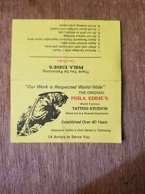 Philadelphia Eddie's Tattoo Business Card