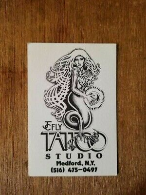 J C FLY Tattoo Business Card