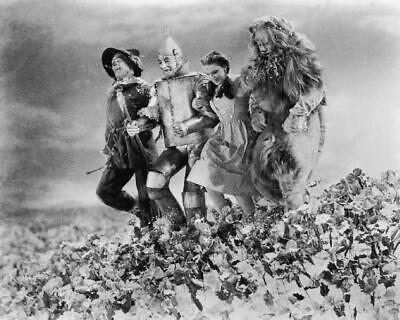 The Wizard Of Oz Judy Garland Ray Bolger Bert Lahr Jack Haley 8x10 Photo (WO-10)