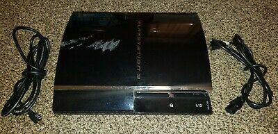 Sony PlayStation 3 PS3 80GB CECHE01 Backwards Compatible Console HDMI Power Cord