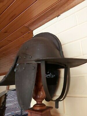 English Civil War 3 Bar Helmet c1640 Armour, not Sword