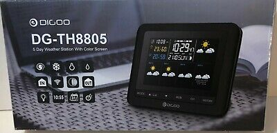 DIGOO DG-TH8805 Wireless Five Day Weather Station Thermometer Barometer Humidity