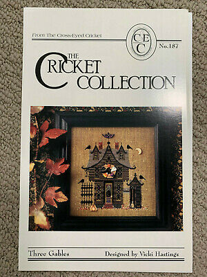 The Cricket Collection - Three Gables -- Cross Stitch Pattern/Chart