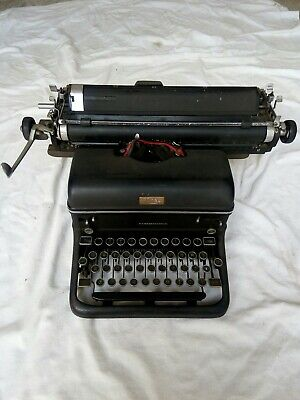 Vintage Royal Portable Typewriter Made In The British Empire