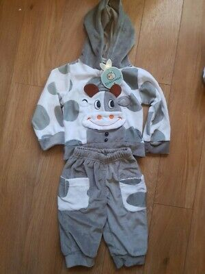 BNWT Cow Outfit 3-6 Months Novelty Costume