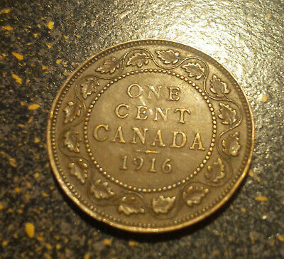 1916 Canada Large Cent - P1916-28