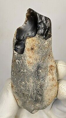 Lower Palaeolithic, Clactonian Mode 1 Knife on a Nodule c400k years BP