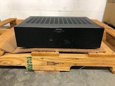 Rotel RB-980BX 2 Channel Power Amplifier 200 Watts Per Channel WORKS