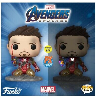 Avengers Endgame I am Iron Man Glow in the Dark Funko Pop PX Excl. -PreOrder-