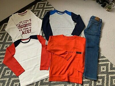 Boys Winter Bundle Age 8 Years Next Tops And Gap Jeans