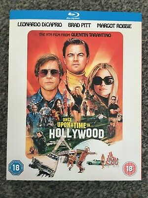 ONCE UPON A TIME IN .. HOLLYWOOD  (2019)  -  New & Sealed Blu Ray - Tarantino