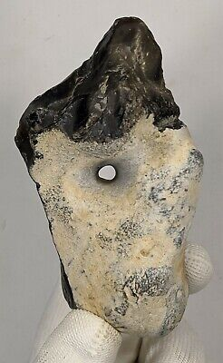 Lower Palaeolithic Chopping Tool With Natural Central Hole c400k Yrs