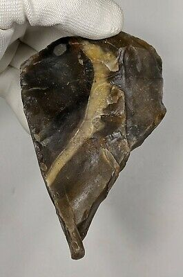 Middle Palaeolithic, Mousterian Triangular Biface c60,000 Years BP