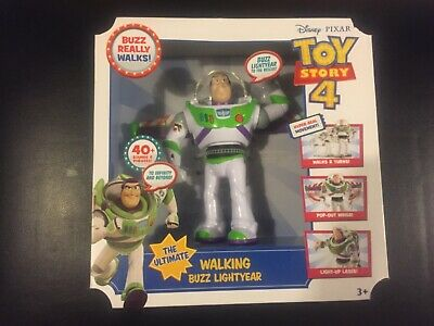 Disney Pixar Toy Story 4 The Ultimate Walking Buzz Lightyear 40+ sounds +phrases