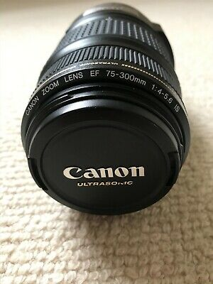 Canon EF 75-300mm f4-5.6 IS Ultrasonic Image Stabilizer zoom Lens