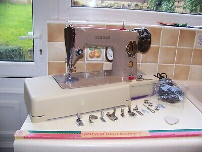 SINGER's PREMIER 201K  SEMI INDUSTRIAL SEWING MACHINE,BNEW MOTOR/PEDAL, SERVICED